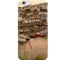 A harbour sunset iPhone Case/Skin