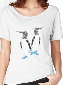 Blue-footed booby Women's Relaxed Fit T-Shirt