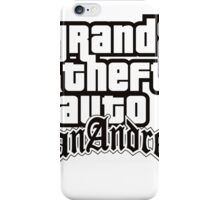 Grand Theft Auto San Andreas iPhone Case/Skin