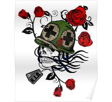 army skull Poster