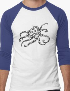 Deep blue sea Men's Baseball ¾ T-Shirt