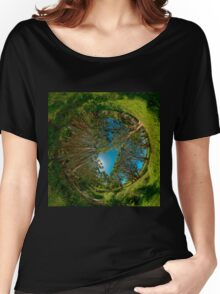 Stereographic view from Lachlan Swamp Women's Relaxed Fit T-Shirt