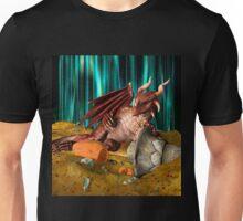 3D Illustration Dragon Treasure Unisex T-Shirt