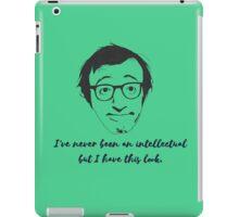 woody allen iPad Case/Skin