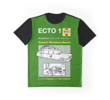 Haynes Manual - Ghosterbusters Ecto 1 - T-shirt Graphic T-Shirt