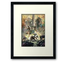 The legend of Zelda - Twilight princess Phone Case Framed Print