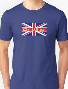 Union Jack Flag - Doctor Who Homage - England Sticker T-Shirt