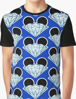 Diamond Ears Color Graphic T-Shirt