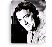 Gregory Peck Hollywood Icon by JS Canvas Print