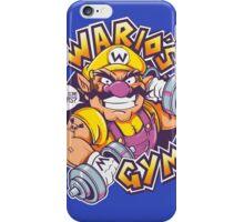 WARIO'S GYM iPhone Case/Skin