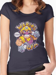 WARIO'S GYM Women's Fitted Scoop T-Shirt