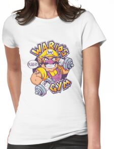 WARIO'S GYM Womens Fitted T-Shirt