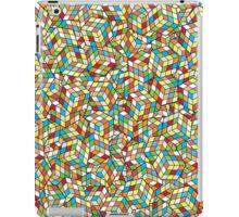 Rubix Cube Pattern iPad Case/Skin