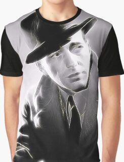 Humphrey Bogart by JS Graphic T-Shirt