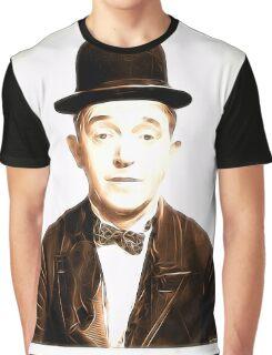 Stan Laurel by JS Graphic T-Shirt