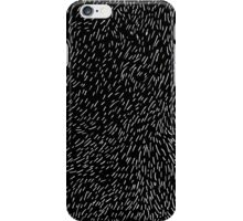 dashed line drawn by pen iPhone Case/Skin