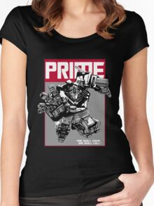 PRIME STAND 1 Women's Fitted Scoop T-Shirt