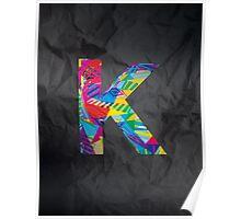 Fun Letter - K Poster