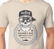 Surfing skull hawaii Unisex T-Shirt