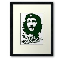 The Notorious Conor Mcgregor, Che Framed Print