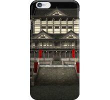 3D Illustration Japanese Temple iPhone Case/Skin