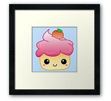 Love the cupcake Framed Print