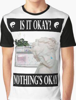 sad angel vaporwave aesthetics Graphic T-Shirt