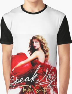 Taylor Swift Speak Now Red Graphic T-Shirt