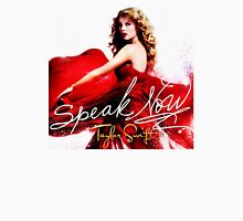 Taylor Swift Speak Now Red Womens Fitted T-Shirt