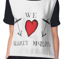 we love aubrey maturin, tony fernandes Chiffon Top
