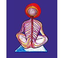 Yoga Spine Photographic Print
