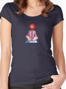 Yoga Spine Women's Fitted Scoop T-Shirt