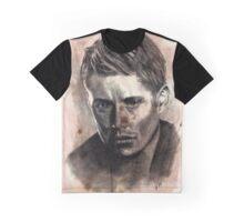 Dean Winchester Caffeine Shock Graphic T-Shirt