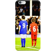 Hillsborough 96 Liverpool Everton together  #jft96 (T-shirt, Phone Case & more) iPhone Case/Skin