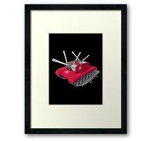 Army Tank Framed Print