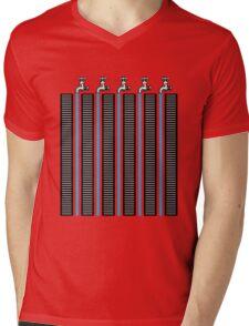 Running Waters Mens V-Neck T-Shirt