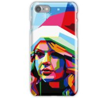 Taylor Swift Santa Hat iPhone Case/Skin