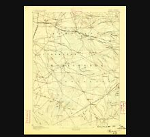 USGS TOPO Map New Jersey NJ Pemberton 255311 1888 62500 Unisex T-Shirt
