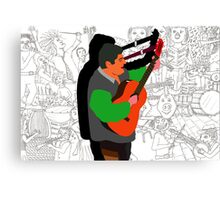Life is Music is Life Canvas Print