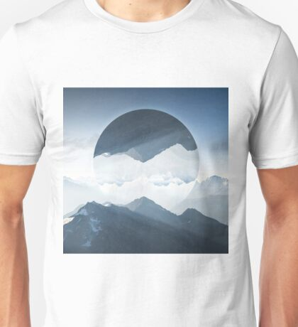 High mountain in morning time Unisex T-Shirt