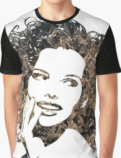 Provocative Face Graphic T-Shirt