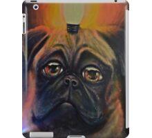 Pug dog & light iPad Case/Skin