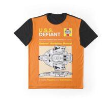 Haynes Manual - USS Defiant - T-shirt Graphic T-Shirt