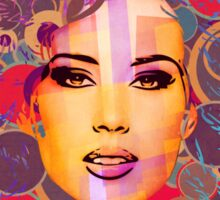 Mimicry, face Sticker