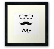 MR T-SHIRT Framed Print