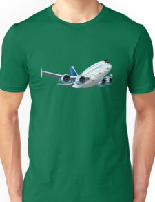 Cartoon Airliner Unisex T-Shirt
