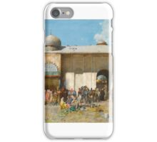 ALBERTO PASINI  ITALIAN - MARKET DAY  iPhone Case/Skin