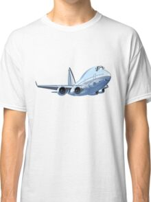 Cartoon Airliner Classic T-Shirt