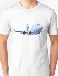 Cartoon Airliner Unisex T-Shirt