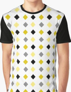 Black and Gold Pattern Graphic T-Shirt